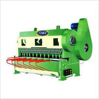 Over Crank Guillotine Shearing Machine