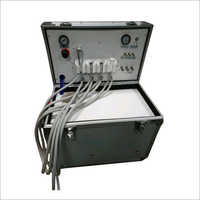 Portable Dental Unit With High And Low Speed Handpiece