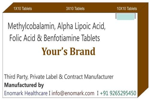Methylcobalamin Alpha Lipoic Acid Folic Acid Benfotiamine