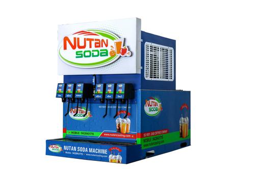 Multi Flavored Soda Vending Machine