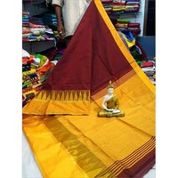 Handloom Mahapar Temple Work Saree