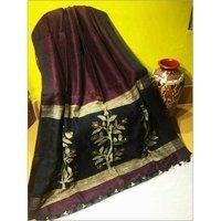 Silk Linen Jamdani Saree