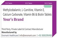 Methylcobalamin L-Carnitine Vitamin E Calcium Carbonate Vitamin B6 Biotin