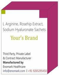 L Arginine Rosehip Extract Sodium Hyaluronate Sachets