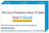 Milk Calcium Phosphorus Vitamin D3 Tablets