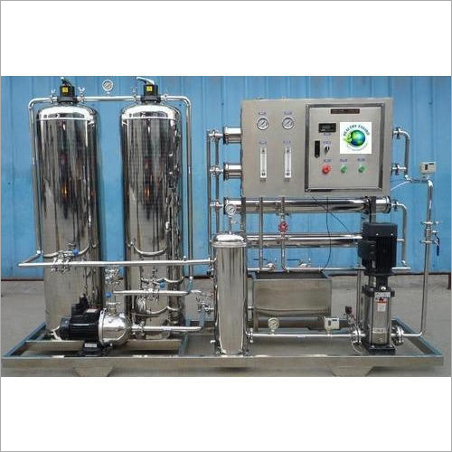 1000 LPH Stainless Steel RO Plant