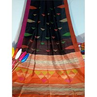 Khadi Temple Work Saree