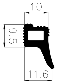 Co-extrusion profile