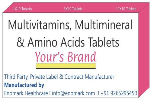 Multivitamins Multimineral Amino Acids