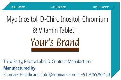 Myo Inositol  D-Chiro Inositol Chromium & Vitamin Tablet