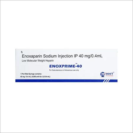 ENOXAPARIN SODIUM INJECTION IP 40MG/0.4ML