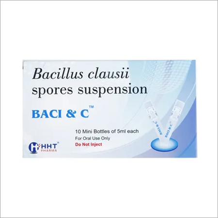 Bacillus Clausii Spores Suspension