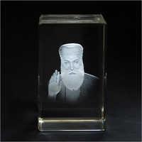 Guru Nanak Crystal Cube