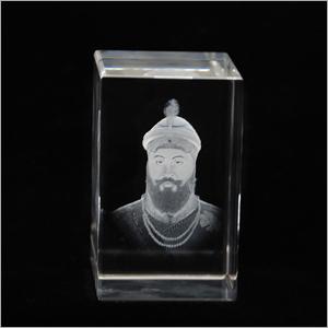 Guru Gobind Singh Crystal Cube