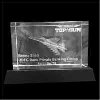 Corporate Crystal Cube Award