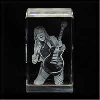 2D Guitar Crystal Cube