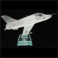 Fighter Plane Crystal Miniature