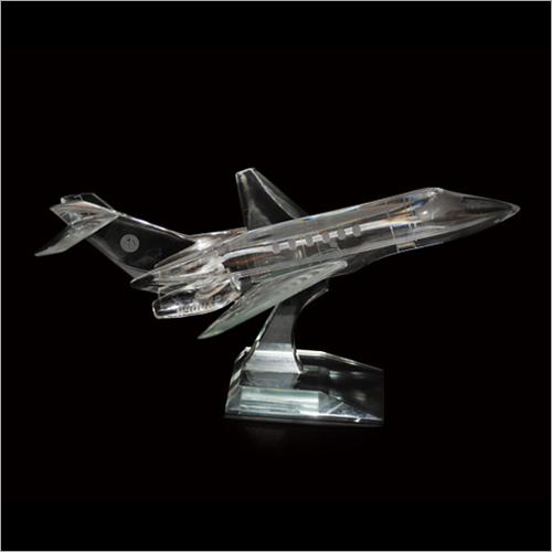 Aeroplane Crystal Miniature