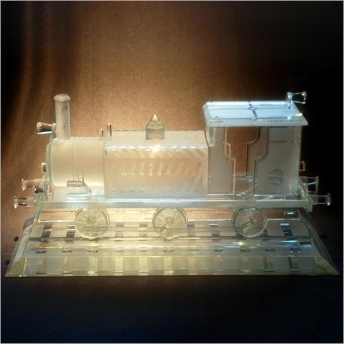 Train Crystal Miniature