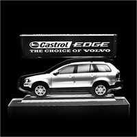Castrol Edge Crystal Plaque