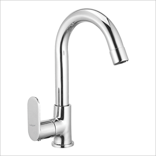 Deck Mounted Single Lever Kitchen Sink Mixer With With J Spout