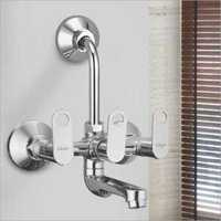 Wall Mixer With L Pipe Bend And Crutch