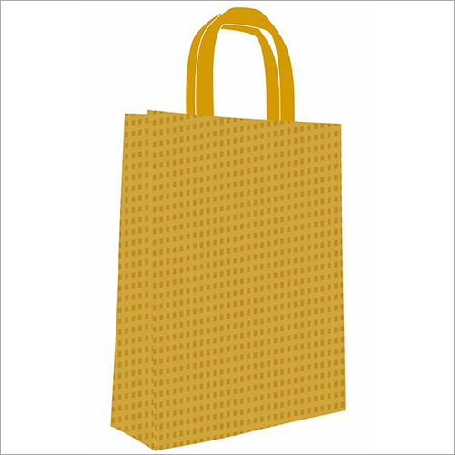 Check Printed Non Woven Bag
