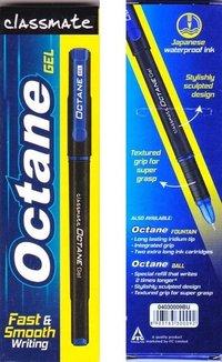 Classmate Octane Gel Pen(Blue&Black)