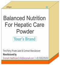 Balanced Nutrition For Hepatic Care Powder