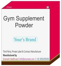 Gym Supplement Powder