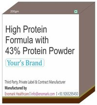 High Protein Formula with 43% Protein