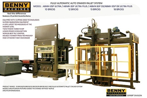 Automatic Fly Ash Brick Making Machine Pallet Type