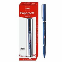 Cello Papersoft Ball Pen - Pack of 10 (Blue)