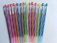 Amam International Bitco Rib Ball Pens (Blue) - Set of 20