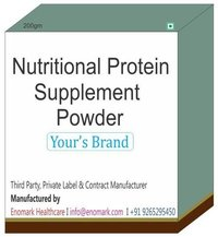 Nutritional Protein Supplement Powder