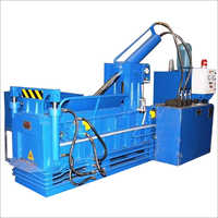 Triple Action Fully Automatic Scrap Baling Machine