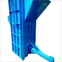 Pet Bottle Conveyor System Scrap Baling Machine