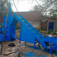 Pet Bottle Conveyor System Scrap Baling Machine