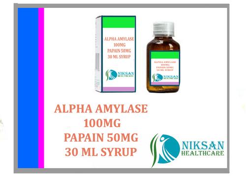 Alpha Amylase Papain 30 Ml Syrup