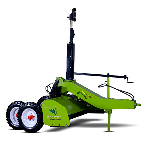 Sports Double Axle Laser Land Leveler