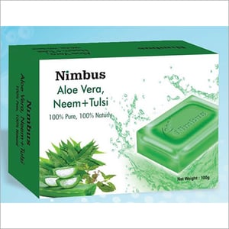 Aloe Vera + Neem + Tulsi Soap