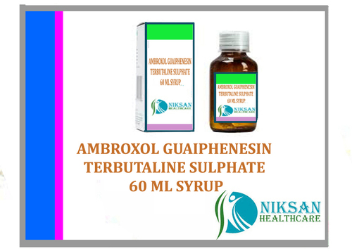 Ambroxol Guaiphenesin Terbutaline Sulphate Syrup