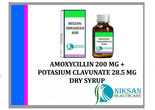 Amoxycillin Potasium Clavunate Syrup