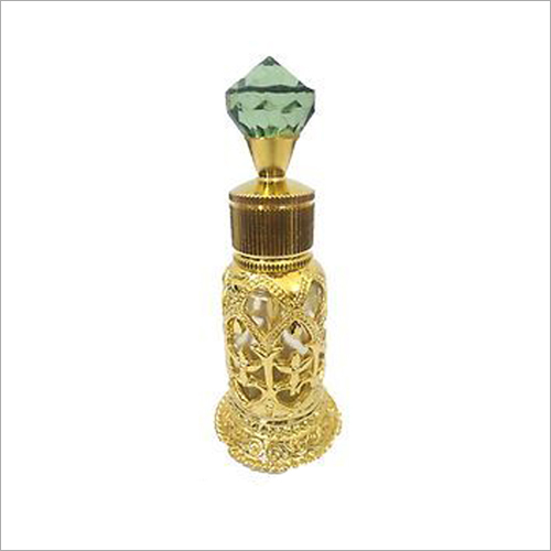 Crystal Attar Bottle With Glass Stick