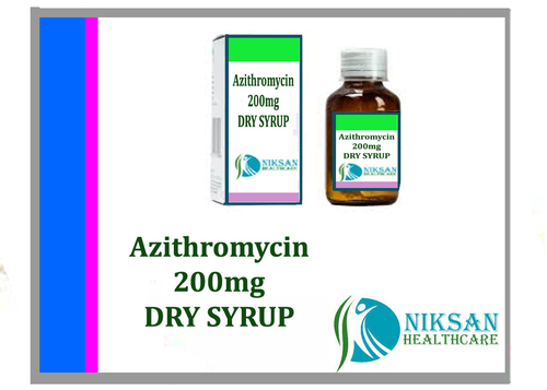 Azithromycin 200Mg Dry Syrup