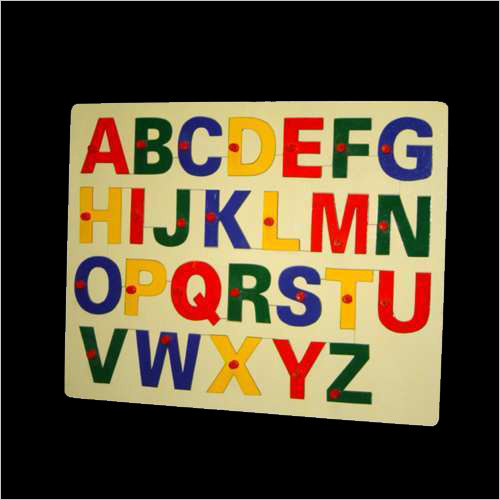Alphabet Liftout English