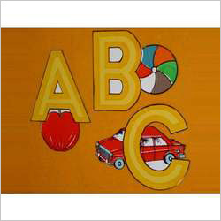 Carved Picture Alphabets English