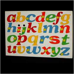 Small Alphabet Liftout English