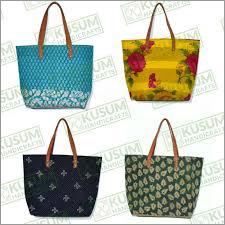 Vintage Sari Handbags or Tote Bags