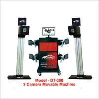 3D WHEEL ALIGNMENT Movable Machine